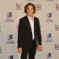 David Bisbal en la entrega de los Premios Juventud 2012