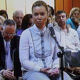 María José Campanario declarando por el 'caso Karlos'