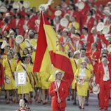 David Cal abanderado en los Juegos Olímpicos de Pekín 2008