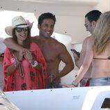 David Bustamante y Paula Echevarría disfrutan de sus vacaciones en Ibiza