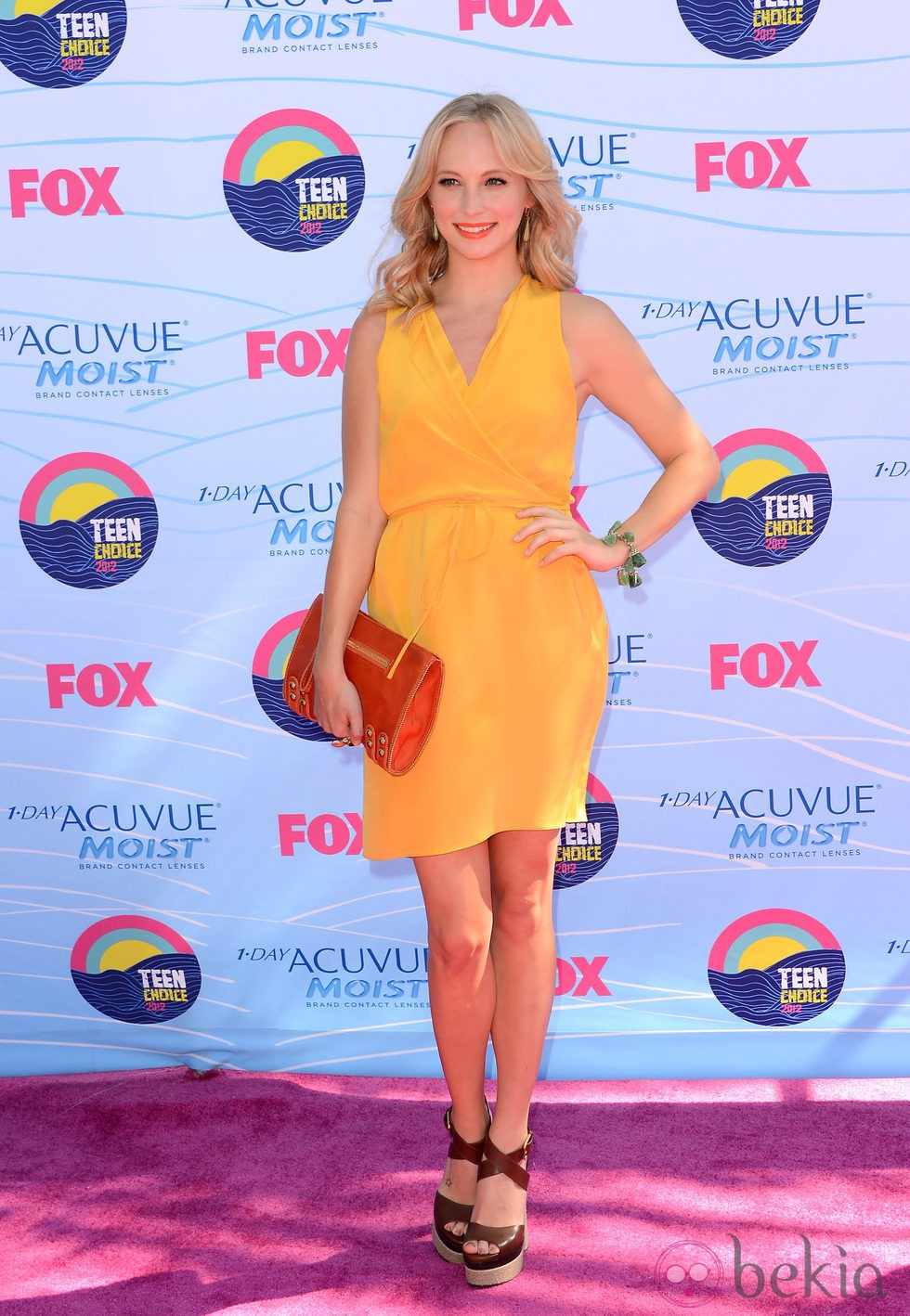 Candice Accola en la gala Teen Choice Awards 2012