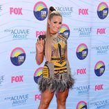 Demi Lovato en la gala Teen Choice Awards 2012