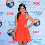 Lucy Hale en la gala Teen Choice Awards 2012