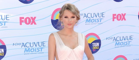 Taylor Swift en la gala Teen Choice Awards 2012