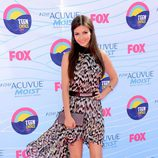Victoria Justice en la gala Teen Choice Awards 2012