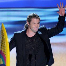 Chris Hemsworth en la gala Teen Choice Awards 2012