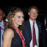 El Príncipe Enrique durante la ceremonia de inauguración de los Juegos Olímpicos