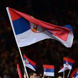 Novak Djokovic en la ceremonia de inauguración de los Juegos Olímpicos
