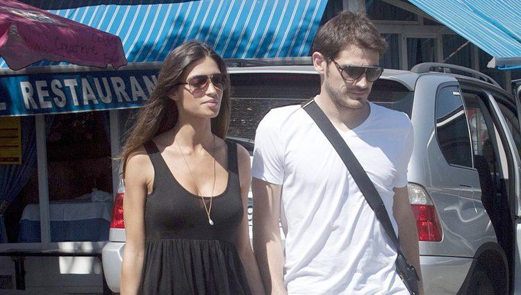 Iker Casillas y Sara Carbonero, en Navalacruz durante sus vacaciones de verano