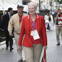 La Reina Margarita de Dinamarca en Londres 2012