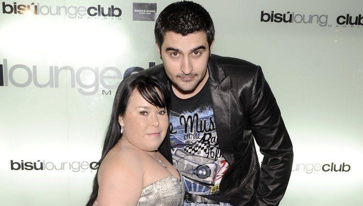Almudena Fernández 'Chiqui' con su novio Borja