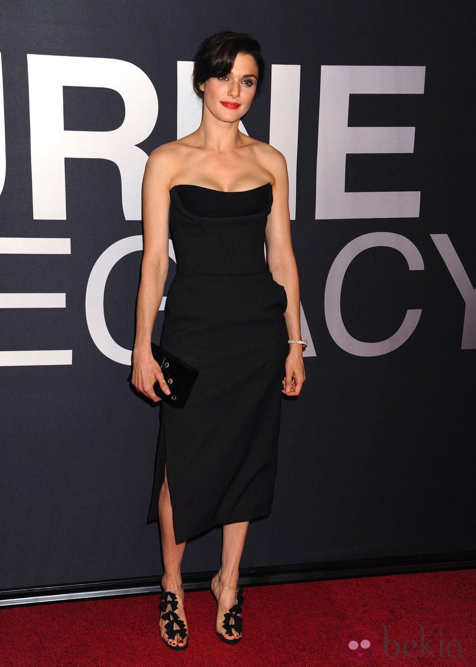 Rachel Weisz en la premiere mundial de 'El legado de Bourne' en Nueva York