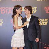 Tom Cruise y Katie Holmes, muy cariñosos en la alfombra roja
