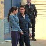 Tom Cruise y Katie Holmes comparten confidencias