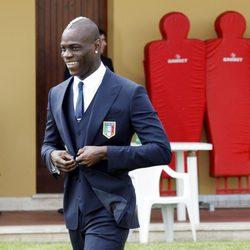 El jugador de fútbol Mario Balotelli