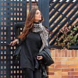 Sara Carbonero saliendo de su casa de Boadilla del Monte
