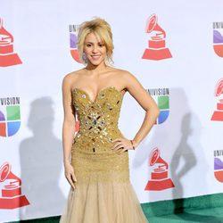 Shakira durante una entrega de premios