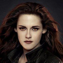 Kristen Stewart en un poster promocional de 'Amanecer.Parte 2'