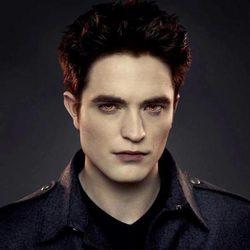 Robert Pattinson en un poster promocional de 'Amanecer.Parte 2'