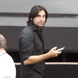Javier Conde en el concierto de Estrella Morente en Madrid
