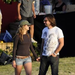 Antonio de la Rúa se divierte con su novia Daniela Ramos