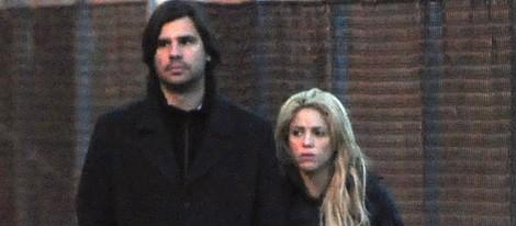 Antonio de la Rúa y Shakira en noviembre de 2010