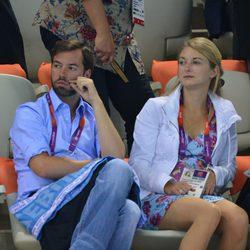 Guillermo de Luxemburgo y Stéphanie de Lannoy en Londres 2012