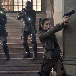 Jessica Biel en la película 'Desafío total'