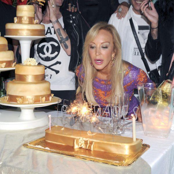 Fiesta de cumpleaños de Carmen Lomana en Marbella