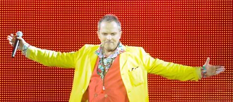 Miguel Bosé ofrece un concierto dentro del Festival Starlite de Marbella 2012
