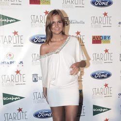 Natalia Sánchez en el Festival Starlite de Marbella 2012