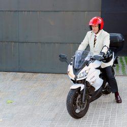 Mario Pascual Vives sale de la casa de la Infanta Cristina e Iñaki Urdangarín en Barcelona