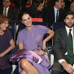 Belén Ordóñez con Eva González y Cayetano Rivera
