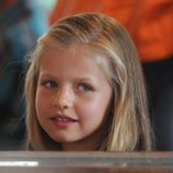 La Infanta Leonor en el tren de Sóller en Mallorca