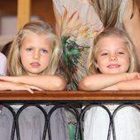 Las Infantas Leonor y Sofía en Sóller