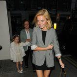 Geri Halliwell celebra su 40 cumpleaños con su hija Bluebell Madonna