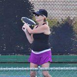 Reese Witherspoon practica tenis embarazada por tercera vez