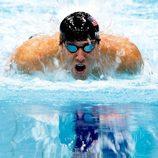 Michael Phelps nadando