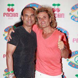 Nacho Cano en la fiesta Flower Power de Ibiza 2012