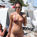 Irina Shayk presume de cuerpazo durante unas vacaciones en la playa