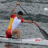David Cal compitiendo en los Juegos Olímpicos de Londres 2012