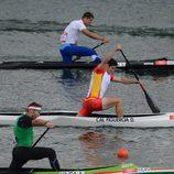 David Cal en las aguas de Eton Dorney en los Juegos Olímpicos de Londres 2012