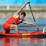 David Cal compitiendo en los Juegos Olímpicos de Pekín 2008