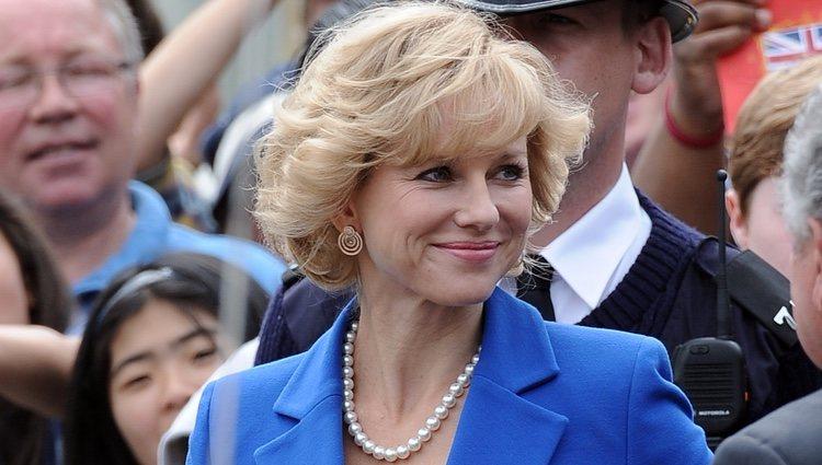 Naomi Watts en una imagen del rodaje de la película 'Diana'