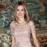 Una sonriente Princesa de Asturias en la cena a las autoridades de Baleares