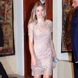 La Princesa Letizia en la cena a las autoridades de Baleares