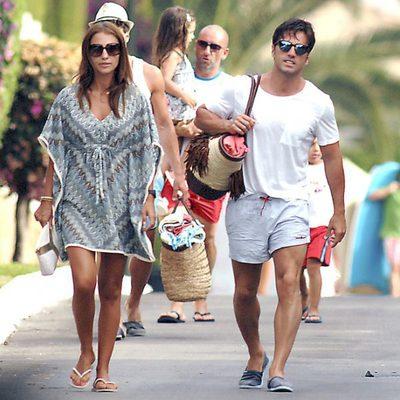 David Bustamante y Paula Echevarría de vacaciones en Marbella