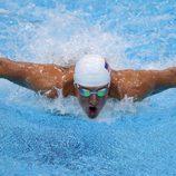 Ryan Lochte nadando