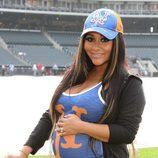 Snooki luce embarazo en un partido de béisbol