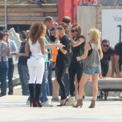 Las Spice Girls planean su actuación en la ceremonia de clausura de los JJ.OO de Londres 2012